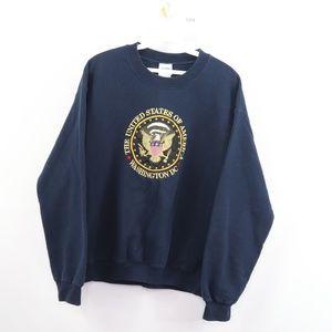 Vintage United State of America Crest Sweatshirt
